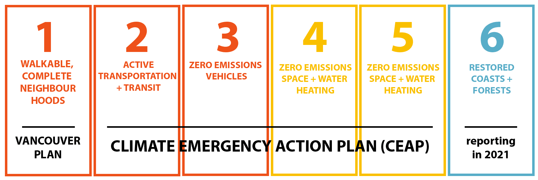 Climate Emergency Action Plan Steps